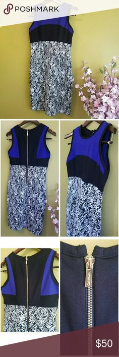 Calvin Klein unique dress Used once. In pretty good condition. No rips or stains. Too big to me now. Feel free to ask qstns for measurements. Calvin Klein Dresses Midi
