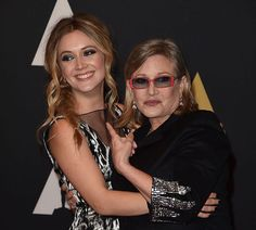 """""""It was a poignant thing, and something that nobody took lightly,"""" said Tuback, """"that she was willing to stand in for her mom."""" Carrie Fisher's Daughter Billie Lourd Played Princess Leia In The Flashback Scene In """"The Rise Of Skywalker"""" Tom Petty, Carrie Fisher Billie Lourd, Carrie Fisher Daughter, Award Acceptance Speech, Tough Mother, Debbie Reynolds, Great Women, Beautiful Women, Iconic Movies"""