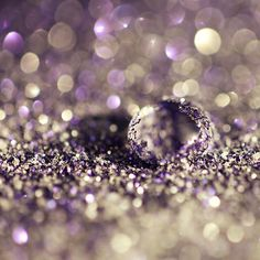 Purple Glitter Radiant Orchid Inspiration