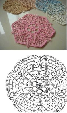 Ideas for crochet patrones ganchillo carpetas Crochet Rug Patterns, Crochet Chart, Thread Crochet, Crochet Motif, Irish Crochet, Crochet Designs, Crochet Doilies, Crochet Flowers, Crochet Lace