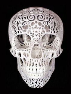 Skull by vladtodd
