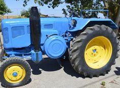 Tractor lanz para hacer fotos y video de boda y anuncios publicitarios