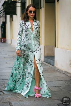 Haute Couture Fall / Winter 2017/18 Street Style: Evangelie Smyrniotaki