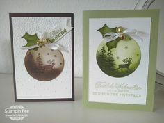 stampin Christmas greetings from santa Grüße vom Weihnachtsmann weihnachten