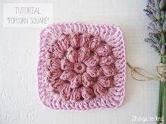 Irene de Things to Knit vuelve con un nuevo tutorial paso a paso para aprender a hacer un granny square en punto popcorn. Es un punto m...