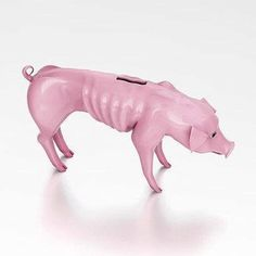 emaciated piggy bank :(