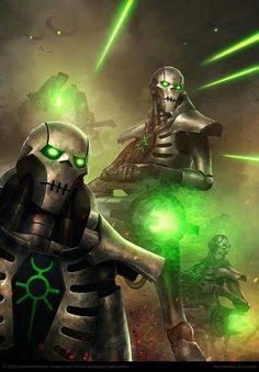 Necron onslaught