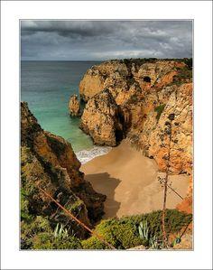 Secluded inlet , near Ponta da Piedade - Lagos, Algarve