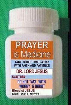 Amen - pray about it