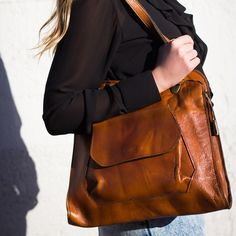 It's all about the classic. Shop Leather Get Together Bag @ www.myfavouritemusthaves.com