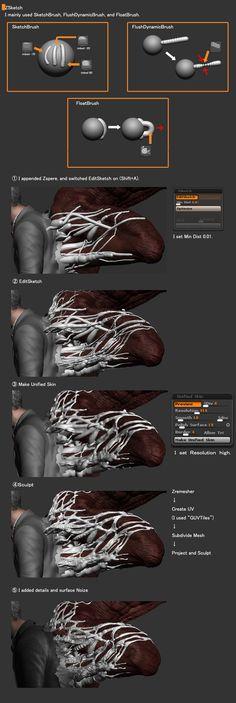 Devil Inside 3D Breakdowns by Uchiyama In this post you will see the breakdowns of Devil Inside 3D B