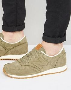 New Balance 70s Running 420 Trainers In Green U420NOT at asos.com 99cfbd36eac2b