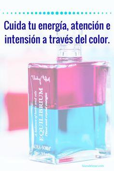 Cuida tu energía, atención e intensión a través del color con el sistema Aura-Soma #AuraSoma #Color #Alma