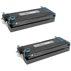 2pk XG722 CYAN Laser Toner Cartridge for Dell 3110cn