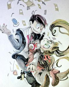 Osomatsu-san- Osomatsu #Anime「♡」 Anarchy, Anime, Characters, Manga, Cute, Color, Figurines, Manga Anime, Kawaii
