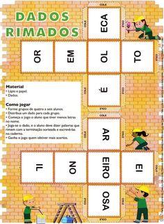 """ ATENDIMENTO EDUCACIONAL ESPECIALIZADO"": DADOS RIMADOS E DOMINÓ DE RIMAS"