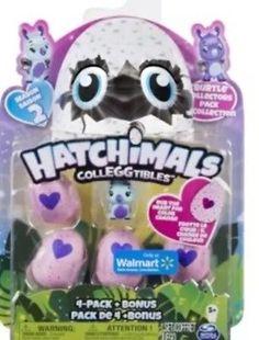 Hatchimals CollEGGtibles 4 Pack Burtle Collectors Bonus Package Season 2 NIB