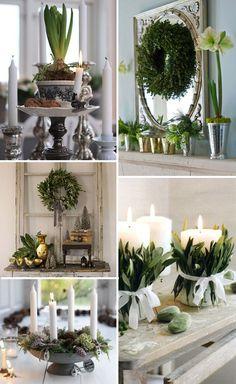 Grey & Silver Christmas Decor