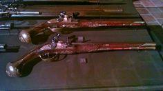 French Flintlock pistols.