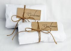 Reusable Laundry Sachets with Organic Lavender, Natural Cleaning, Dryer Sheet Alternative. $18.00, via Etsy.