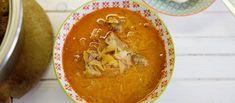 Segedínský guláš Thai Red Curry, Ethnic Recipes, Food, Essen, Meals, Yemek, Eten
