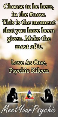 Choose to be here, in the #now. This is the moment that you have been given. Make the most of it. Psychic Phone Readings 18779877792 #psychic #accurate