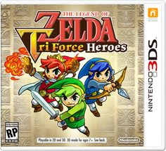 The Legend of Zelda: Tri Force Heroes release this fall on #3DS | #TriForceHeroes