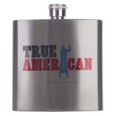 New Girl True American Flask | Fox Shop