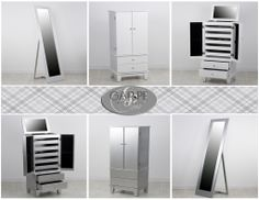 Muebles joyero y espejos / Jewelry furniture and mirrors