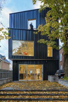 Casa Glebe por Batay-Csorba Architects, Canadá