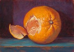"""Daily Paintworks - """"Orange Peel"""" by John Walker"""