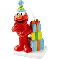 Sesame Street Party Supplies - Sesame Street Birthday - Party City, elmo candle, 3 in, $3.99