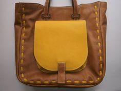 Shoulder Bag Genuine Leather Shoulder Bag Office by 74streetbags, $139.00