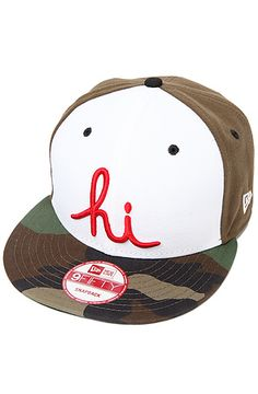 5807e2865d5 The Hi New Era Snapback in Olive New Era Snapback