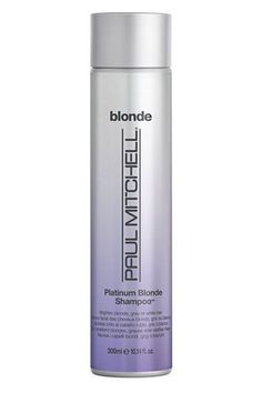 For that perfect icy blonde hue, lather this shampoo into your hair, and let it sit for five minutes before rinsing. The formula contains conditioning ingredients such as jojoba to make your usually straw-like hair super soft instead. Purple Shampoo Toner, Lila Shampoo, Purple Shampoo For Blondes, Purple Shampoo And Conditioner, Best Purple Shampoo, No Yellow Shampoo, Shampoo For Gray Hair, Cool Blonde Tone, Soap Recipes
