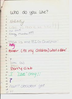 Slam Book, OMG totally forgot about this one. Signed at least Tennessee Williams, Those Were The Days, The Good Old Days, Slam Book Questions, Pochacco, Back In My Day, Barry Gibb, Baby Boomer, Thing 1