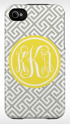 Love anything with my monogram!