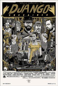 Mondo: The Archive   Tyler Stout - Django Unchained - Variant, 2013