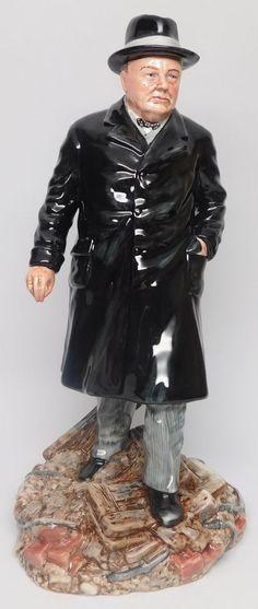 "Ltd Edition RARE Royal Doulton Figurine ""Winston s Churchill"" HN3433 | eBay"