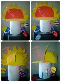 Sombrero loco sistema solar