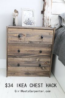 Girl Meets Carpenter: small bedroom tricks you've never tried! Girl Meets Carpenter: small bedroom tricks you've never tried! Image Size: 213 x 320 Source Bedroom Decor On A Budget, Small Dresser, Dresser As Nightstand, Ikea, Guest Bedroom Remodel, Remodel Bedroom, Small Bedroom Remodel, Small Bedroom, Trendy Bedroom