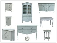 The serene shades of soft whites, pale greys and blues, together with the practicality of Gustavian Provincial style makes the Benning collection easy to put together with existing pieces; creating an interior that is luminous and unassuming, without the complexities of colour coordination.  As from this week, we welcome a glazed dresser and a 4 drawer console to the range. http://www.indiajane.com/store/department/1/FURNITURE/page5.html
