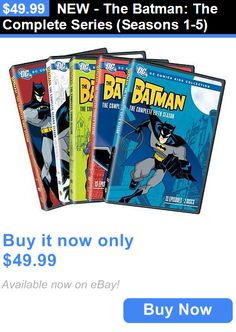 cds dvds vhs: New - The Batman: The Complete Series (Seasons 1-5) BUY IT NOW ONLY: $49.99