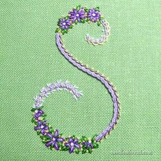 Errata Notice for Stitch Sampler Alphabet – Handstickerei Hand Embroidery Flowers, Hand Embroidery Stitches, Silk Ribbon Embroidery, Crewel Embroidery, Cross Stitch Embroidery, Embroidery Designs, Embroidery Alphabet, Embroidery Monogram, Needlework