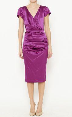 Fuchsia Dress.