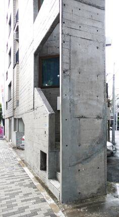 Tower House, Arch. Takamitsu Azuma, 1967 Jingumae Shibuya-ku Tokyo