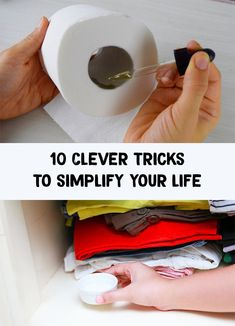 10 Clever tricks to simplify your life – Positive Thinking & Self Help Community Beauty Kit, Beauty Hacks, Beauty Ideas, Diy Beauty, Daily Beauty Routine, Beauty Routines, Clear Nails, Oily Hair, Healthy Nails