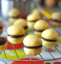 Baisers de dame à l'amande ou à la noisette (Baci di dama) - les meilleures recettes de cuisine d'Ôdélices