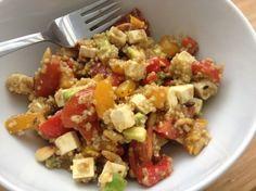 Recept: vegetarische quinoa salade