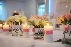 Stół weselny ParkHotel Łysoń. #weddingtable #wedding #targiślubne